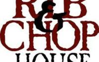 Rib And Chop House Menu