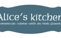 alice's kitchen menu