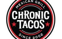 Chronic Tacos Menu