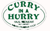 Curry In A Hurry Menu