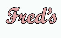 Freds menu