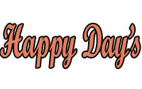 Happy Days Menu