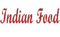 Indian Food Menu