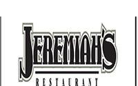 Jeremiah's Restaurant Banquet Menu