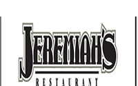 Jeremiah's Restaurant Lunch & Dinner Menu