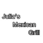 Julia's Mexican Grill Lunch Menu