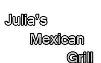 Julia's Mexican Grill Lunch Menu