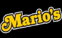 Mario's Pizza Menu
