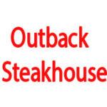 Outback Steakhouse Bar Menu