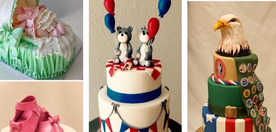Party Cakes Menu