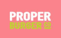 Proper Burger Menu