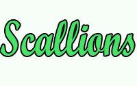 Scallions Menu