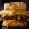 Steak, Egg & Cheese Biscuit