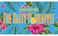 The Salty Pineapple food truck Menu