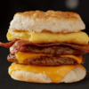 Triple Breakfast Stacks Biscuit