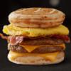 Triple Breakfast Stacks McGriddles