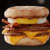 Triple Breakfast Stacks McMuffin