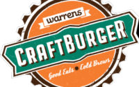 Warrens Craft Burger Menu