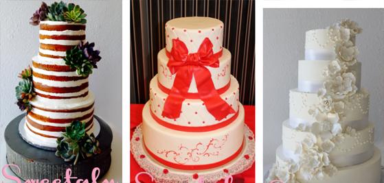 Wedding Cakes Menu