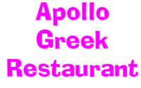 Apollo Greek Restaurant Menu