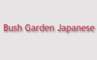 Bush Garden Japanese Restaurant Menu