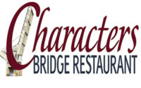 Characters Bridge Restaurant Dinner Menu