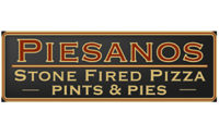 Piesanos Stone Fired Pizza Menu