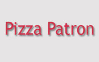 Pizza Patron Menu